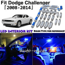11x Blue LED Interior Lights Package Kit For 2008 - 2013 2014 Dodge Challenger