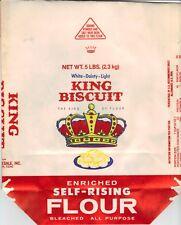 BLUES MEMORABILIA: KING BISCUIT FLOUR SACK Helena, Arkansas (King Biscuit Time)