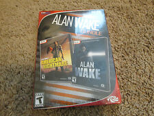 Alan Wake Bundle(PC DVD Games, 2016) Alan Wake & American Nightmare.NEW!!!!