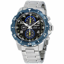 Seiko SSC637 Solar Jimmie Johnson Special Edition Chronograph Steel Mens Watch