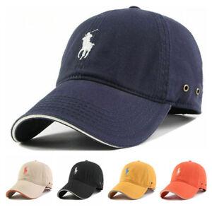 Hat Sun Cap Men Women Pony One Polo Free Baseball Strap Summer Hat Golf Sport