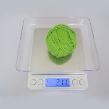 2000g x 0.1g Digital Scale Jewelry Gold Silver Coin Gram Pocket Size Herb Grain