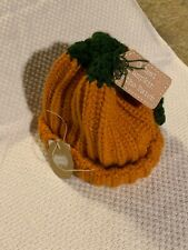 Mudpie Baby Cutest Pumpkin In The Patch Thanksgiving Fall Hat Infant To 18m NWT