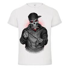 EXUCUTOR SKULL horror kill chain mashup mens t-shirt tee new 2017