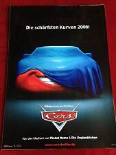 Cars Kinoplakat Poster A1 Pixar, Walt Disney