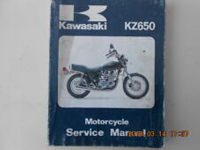 kawasaki  kz650  . service manual  . kz 650  . z 650
