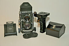 Mamiya C330 Professional TLR with 80mm lense, Prism Finder and Pistol Grip