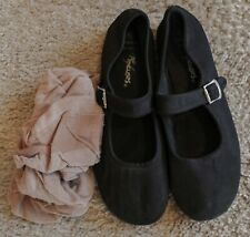 Black Fabric Shoes