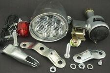 Ride on Bicycle Motorized Bike Friction Generator Dynamo Headlight Tail Light UK