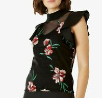 Elizabeth Embroidered High Neck Top blouse by Coast size 18 BNWT RRP £59