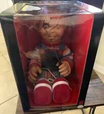 """Animated Chucky Doll 24"""" Gemmy Bride of Chucky Talking Moving Collector Doll New"""