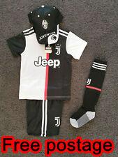 New 2020 kids soccer jersey boy sportswear Juventus home kit set #7 Ronaldo