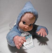✿✿ Vintage Puppe Mary Meyer - Puppe / Doll hellblau mit Etikett  ✿
