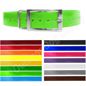 Replacement Collar Strap for Garmin TT15 Alpha Solid Glow Tuff W/Square Ring