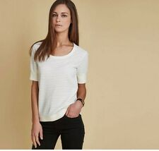 Barbour Range Rover Collection women's US 12 UK 16 Wadeline Top White SS16 $134