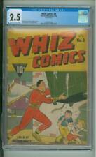 Whiz Comics #8 CGC  2.5  Captain Marvel Cover 1940