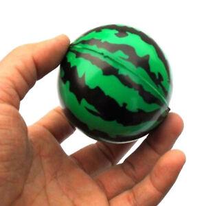 Watermelon Shaped Hand Wrist Exercise Stress Relief Squeeze Soft Foam Ball.ji