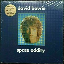 David Bowie Space Oddity SILVER VINYL 50th Anniversary LP Limited Numbered