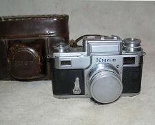 Kiev 3 Vintage Old Russian camera USSR copy Contax 35mm 1954 jupiter-8 RARE
