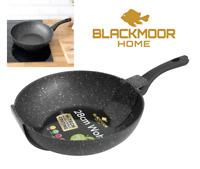 28cm Blackmoor Stone Wok Pan Durable Non-Stick Stir Frying Pan Induction