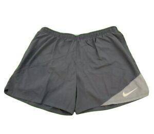 "NIKE FLEX Dri-Fit DISTANCE RUNNING 5"" Pocket SHORTS GRAY Men's XL 834188-471 $45"