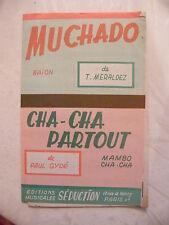 Partition Muchado Meraldez Baion Cha Cha Partout Paul Gydé Mambo Cha Cha