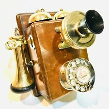 Vintage GPO Rotary Wall Telephone - Model 121, 1931 - Clean & Lovely - Converted