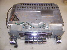 1963 64 CHRYSLER MODEL 348 ALL TRANSISTOR AM RADIO NEW YORKER NEWPORT 300