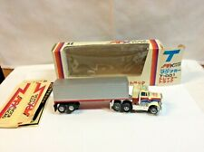 AFX TOMY AURORA PETERBILT Truck Lighted Magnatraction Chassis, boxed.