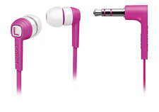 Philips pink In Ear Kopfhörer Flachkabel Ohrhörer R4.6/F1-9062 UVP*= 29€ Sound