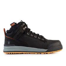 Scruffs SWITCHBACK Black Safety Hiker Work Boots (Sizes 7-12) Mens Steel Toe Cap