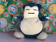 Pokemon Plush Snorlax Hasbro 1999 doll Bean Bag stuffed figure Rare Old School