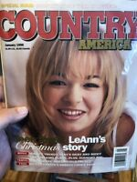January 1998 Country America Magazine LeAnn's Christmas Story Year In Review