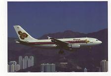 Thai Airways International Airbus A310-300 Aviation Postcard, A993