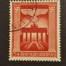 DEUTSCHLAND GERMANY CLASSICS 1943 MI.NR. 829 used