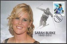 CANADA #2707.1 - SARAH BURKE, CANADIAN SKIING CHAMPION - MAXICARD