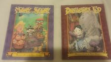 Mary Scary and Dreadful Ed by Andrew Cosby & Troy Nixey 2 book lot