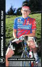 LANCE ARMSTRONG Team MOTOROLA 93 Cycling signed PRINT Autograph Tour de France