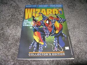 Wizard Magazine guide to comics #1 Sept.1991 VF with Poster