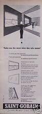 PUBLICITÉ 1956 SAINT-GOBAIN VOTRE MIROITIER ROLLISOL - ADVERTISING