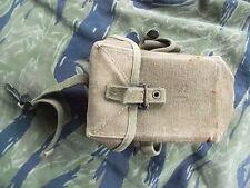 GENUINE ORIGINAL ISSUE US ARMY VIETNAM WAR M56 M 56 WEBBING 30RD M16 MAG POUCH