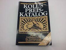KOLL'S PREIS KATALOG 2007 Band 1 OO/HO
