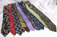 NEW Mens Wholesale Lot of 25 Silk & Other Name Brand Varied Style Necktie Ties