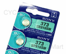Sony SR916SW 373 Silver Oxide Watch Battery x 2 pcs, Made in Japan, FREE POST WW