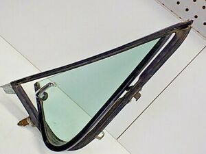 Oct 1975 Ford F100 OEM Part Driver Vent Window Tint Glass & Frame Bronco 79 F150