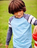 NEW RRP £11.99 Mini Boden Long Sleeve Boys T-Shirt(BU15B)