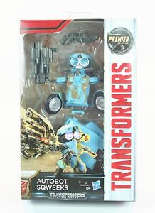 """TRANSFORMERS The Last Knight AUTOBOT SQUEEKS 5"""" Premier Deluxe action figure toy"""