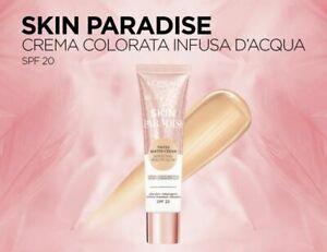 Loreal Skin Paradise Tinted Water-Cream 30 ml SPF 20 - SEALED - CHOOSE YOUR