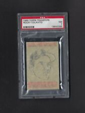 1965 Topps Transfers ROCKY COLAVITO PSA 7 Indians POP 2 Only ONE (8) Higher