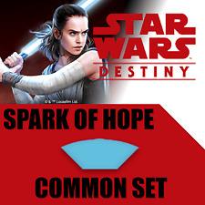 Star Wars Destiny Spark of Hope Common Set